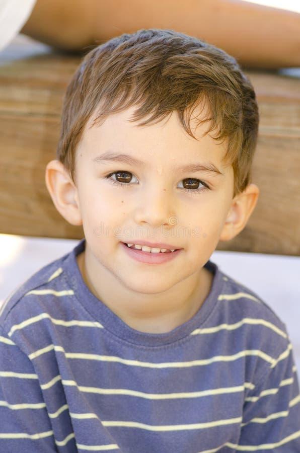 chłopiec portret śliczny latynoski zdjęcie royalty free