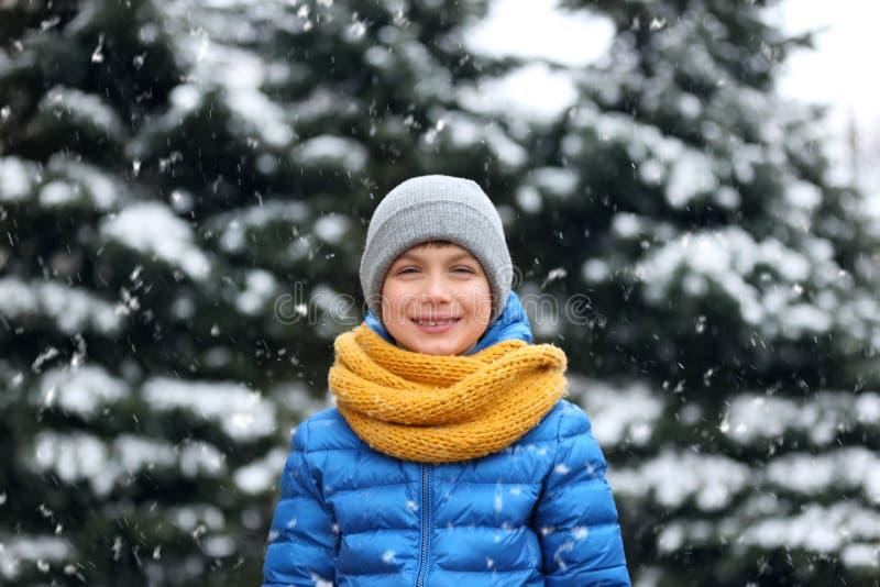 chłopiec portret trochę zdjęcie royalty free