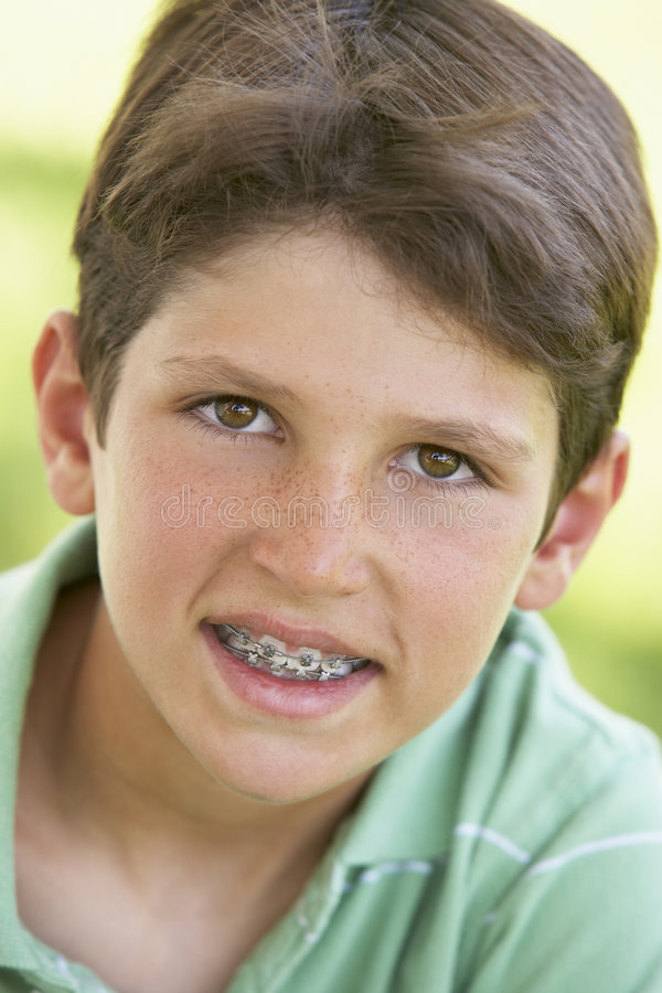 chłopiec portreta ja target2623_0_ obrazy stock