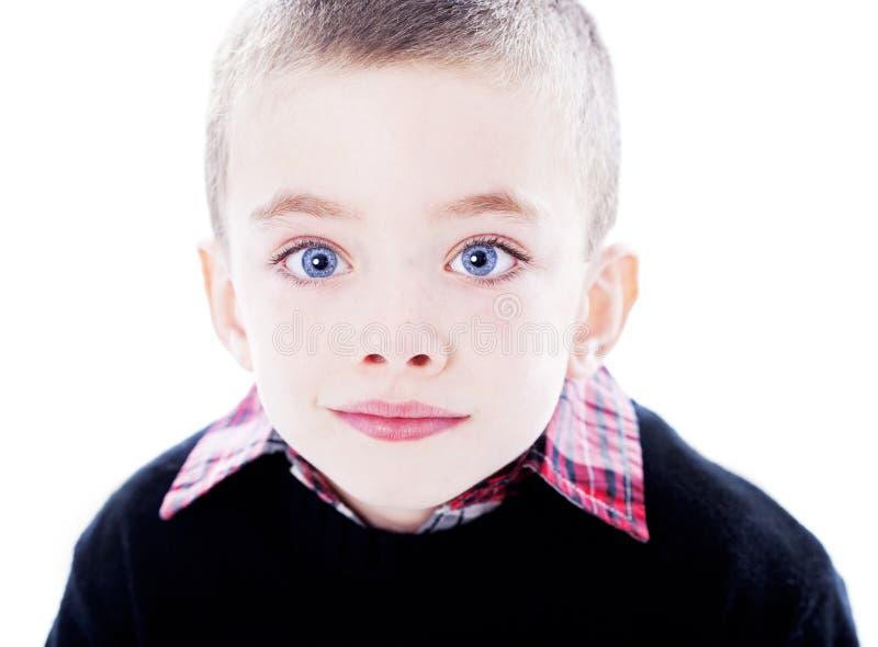 Chłopiec przystojny portret obrazy royalty free