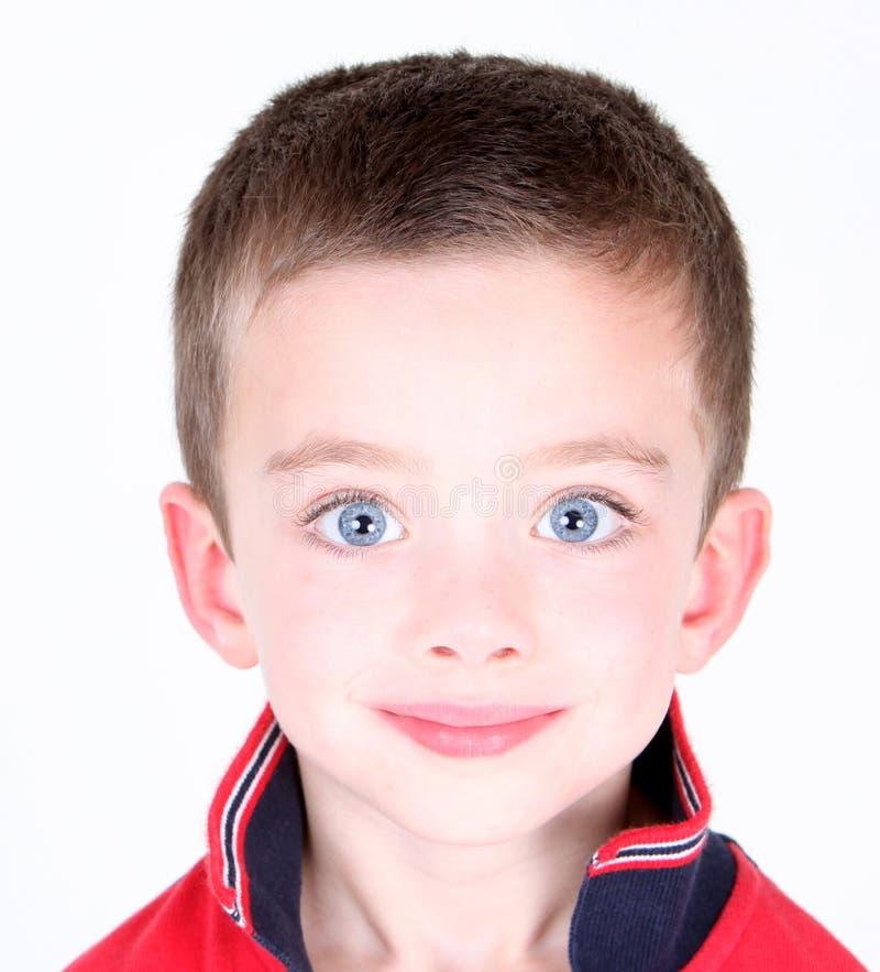 Chłopiec przystojny portret obraz stock