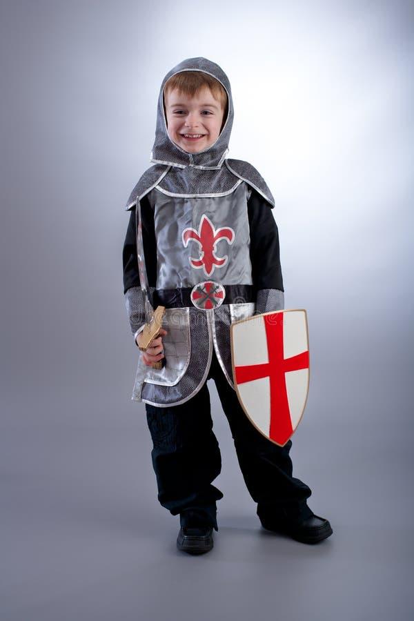 chłopiec rycerz zdjęcia royalty free