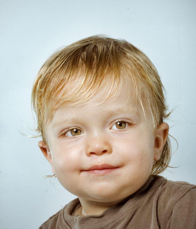 chłopiec szczęśliwy portreta ja target2298_0_ fotografia stock