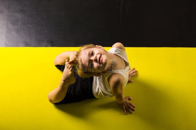 Chłopiec tancerz zdjęcie royalty free