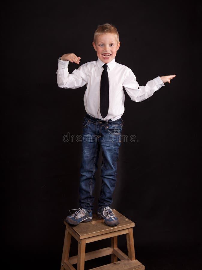 chłopiec taniec zdjęcie royalty free