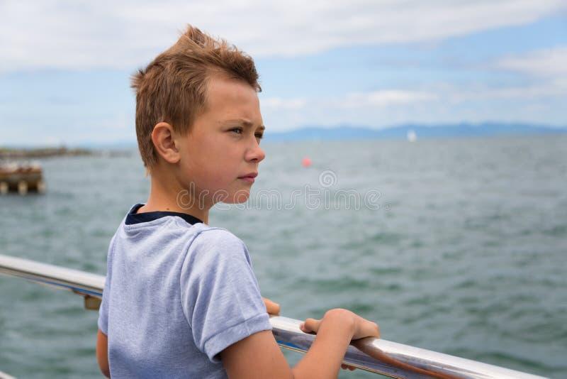 chłopiec target1840_0_ portret obraz royalty free