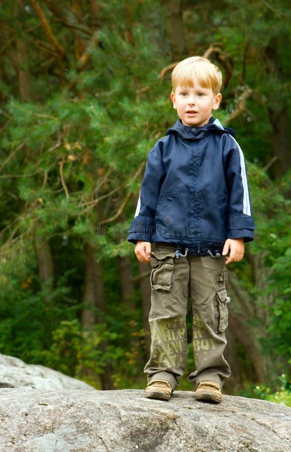 chłopiec trochę zdjęcie royalty free