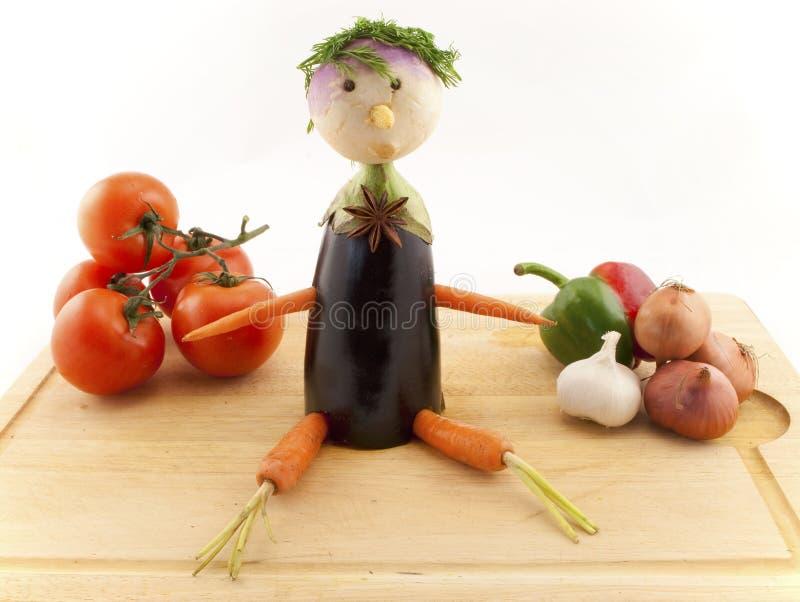 chłopiec wyboru veg obrazy royalty free