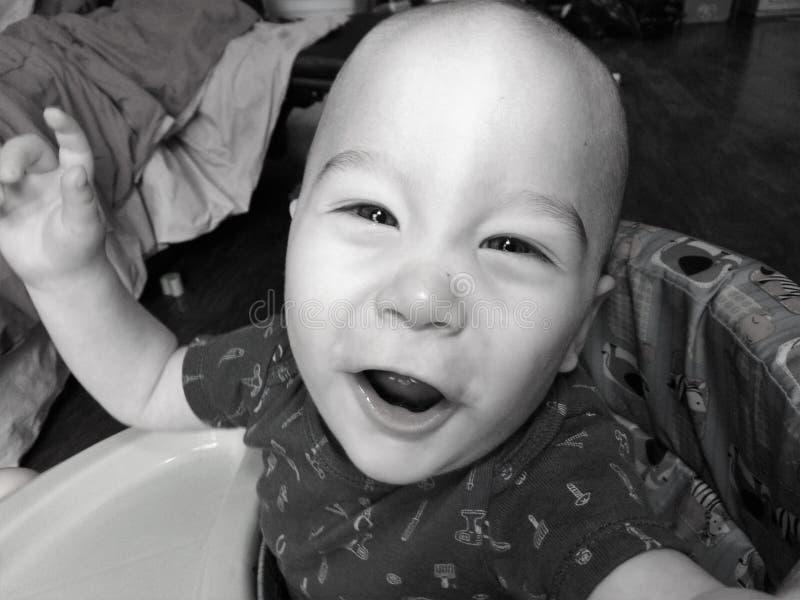 Chłopiec Z jaśnień oczami zdjęcie royalty free