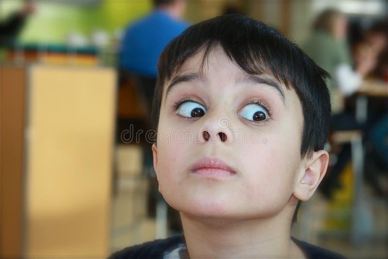 chłopiec zdziwiony śliczny zdjęcia royalty free