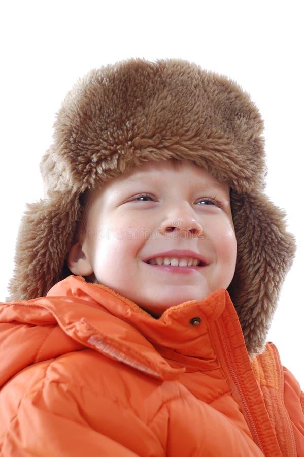 chłopiec zima zdjęcia stock