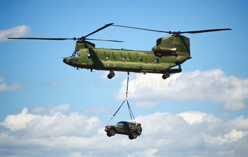 CH-47契努克族 免版税库存照片