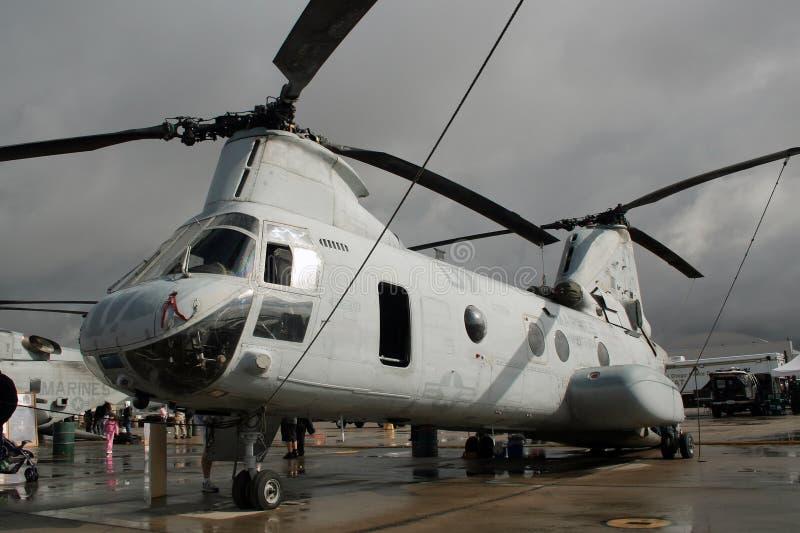 Ch-46 Seaknight stockfotos