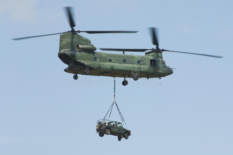 Download CH-47 Chinook helicopter stock image. Image of navy, transporter - 11260565