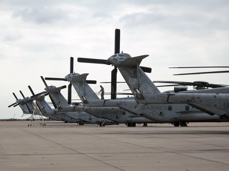 CH-53 E stock photo