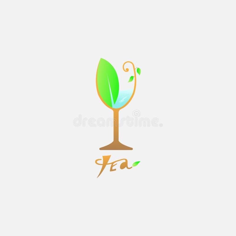 Ch? do logotipo do vetor ilustração do vetor