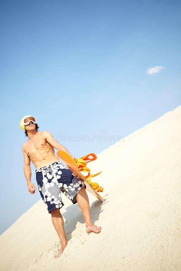 Download Chłodno sandboarder zdjęcie stock. Obraz złożonej z mężczyzna - 28968000