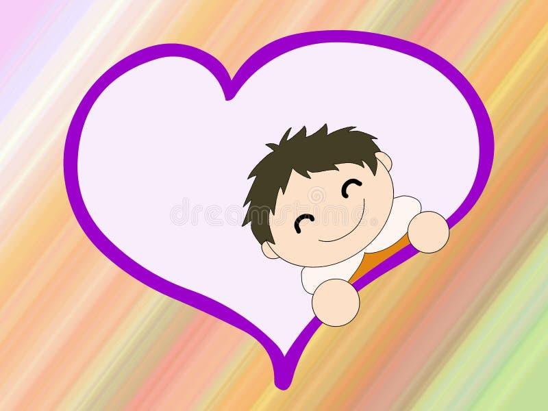 Download Chłopcy ilustracji. Obraz złożonej z dziecko, maternity - 5687782