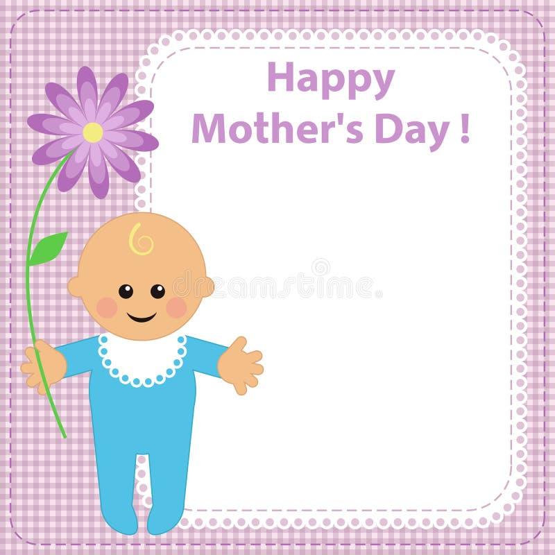 Download Chłopiec kwiat ilustracja wektor. Ilustracja złożonej z miłość - 13330054