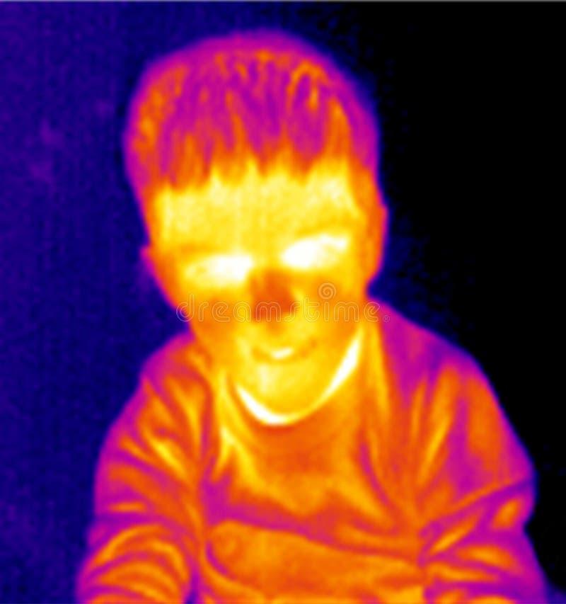 Download Chłopiec Portreta Termograf Fotografia Royalty Free - Obraz: 7964047
