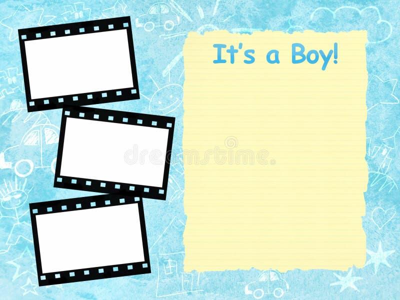 Chłopiec struktura swój szablon
