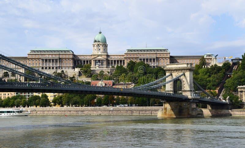 Ch?teau de Buda ? Budapest, Hongrie photographie stock libre de droits