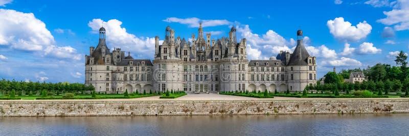 Ch?teau de Chambord en France images stock