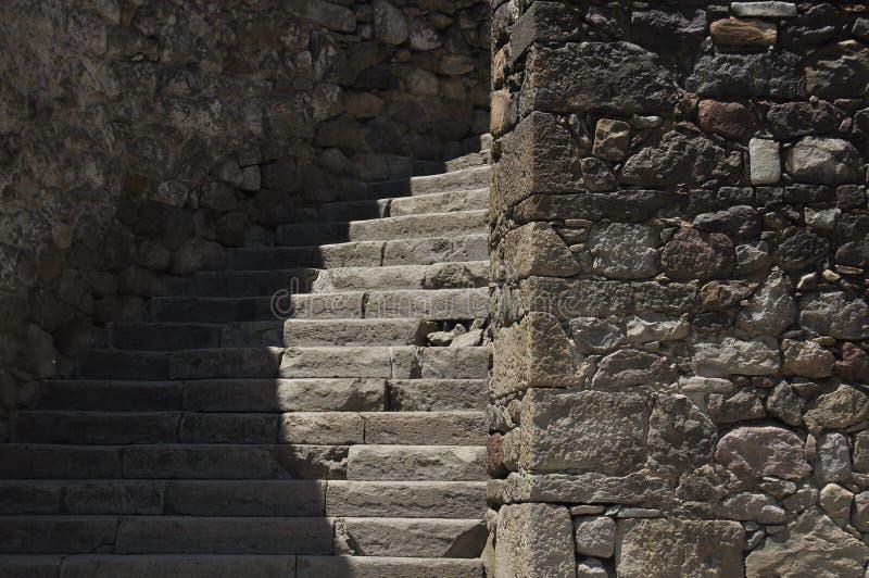 Ch?teau de Rabati en G?orgie endroit historique Un château sur la colline avec le kró?ganki et les tours images stock