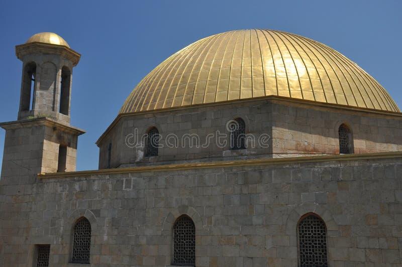 Ch?teau de Rabati en G?orgie endroit historique Un château sur la colline avec le kró?ganki et les tours image stock