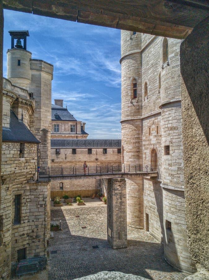 Ch?teau de Vincennes immagine stock
