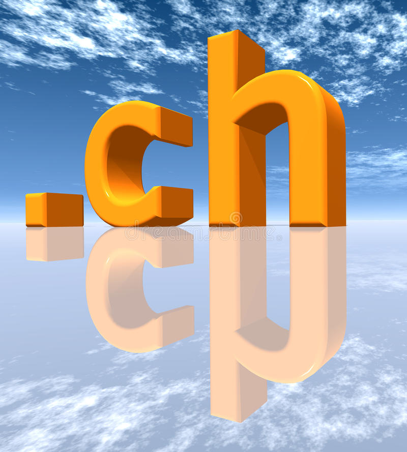 Download CH Top Level Domain Royalty Free Stock Photos - Image: 25914138