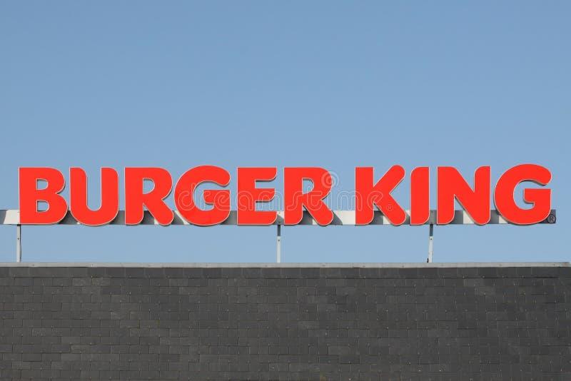 Chaîne d'aliments de préparation rapide de Burger King photographie stock libre de droits