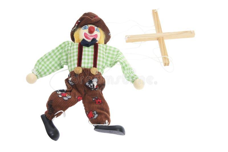 chaîne de caractères de marionnette images stock