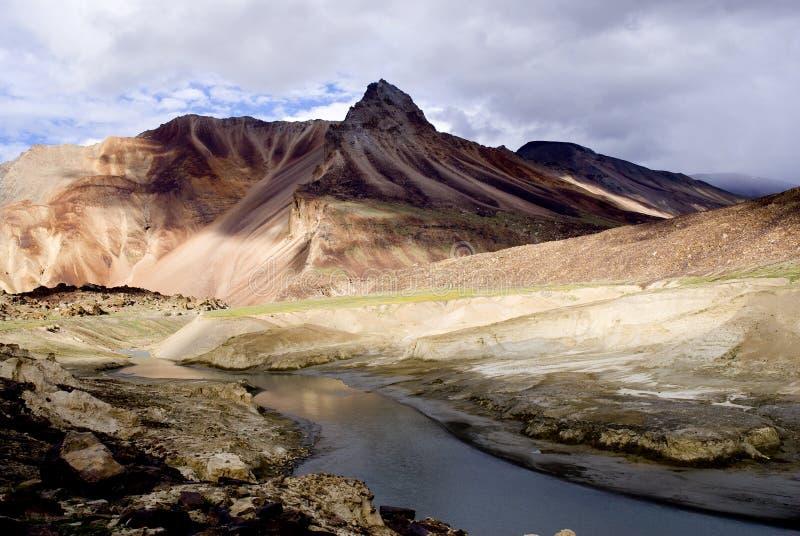 Chaîne de l'Himalaya photo libre de droits