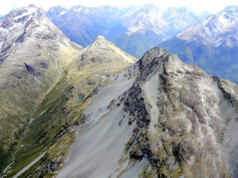 Chaîne de montagne image libre de droits