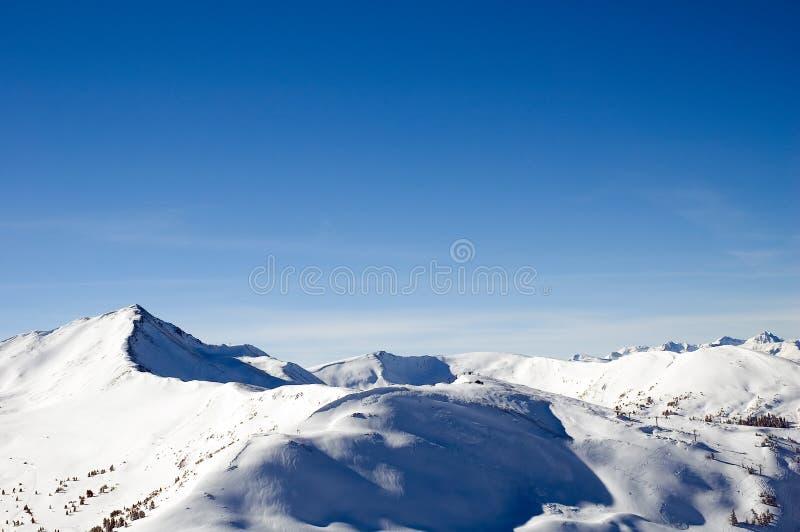 Chaîne de montagne 3 photo libre de droits