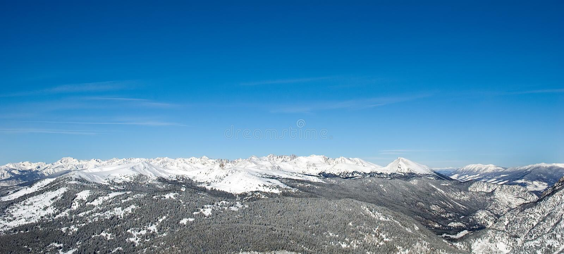 Chaîne de montagne 7 images libres de droits