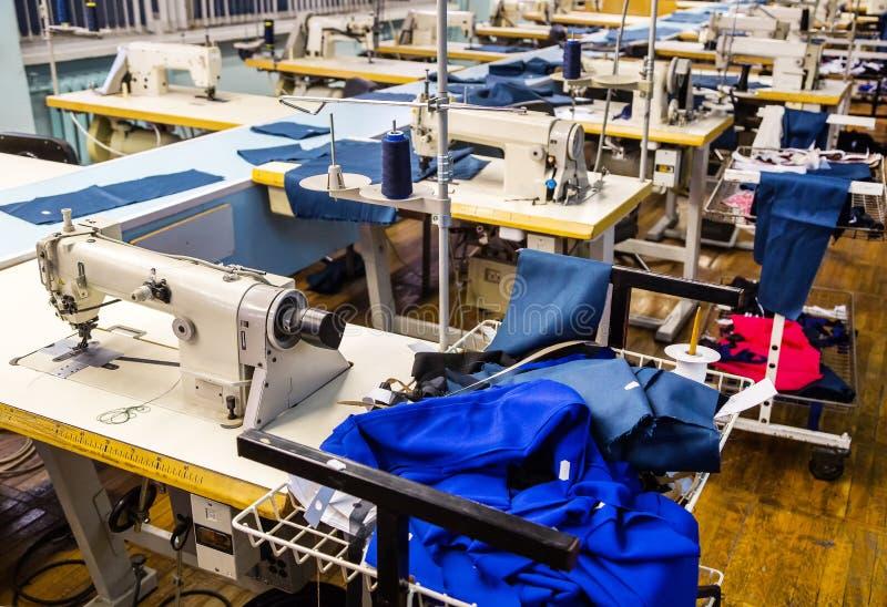 Chaîne de production de couture photo libre de droits