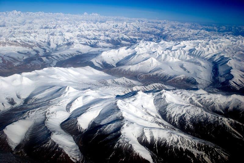 Chaîne de Zanskar, Ladakh, Inde photo stock