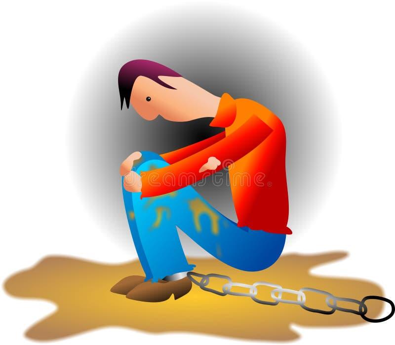 Chaînes illustration libre de droits