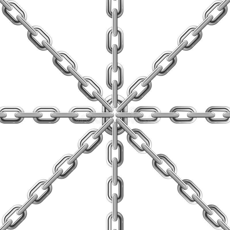 Chaînes illustration de vecteur