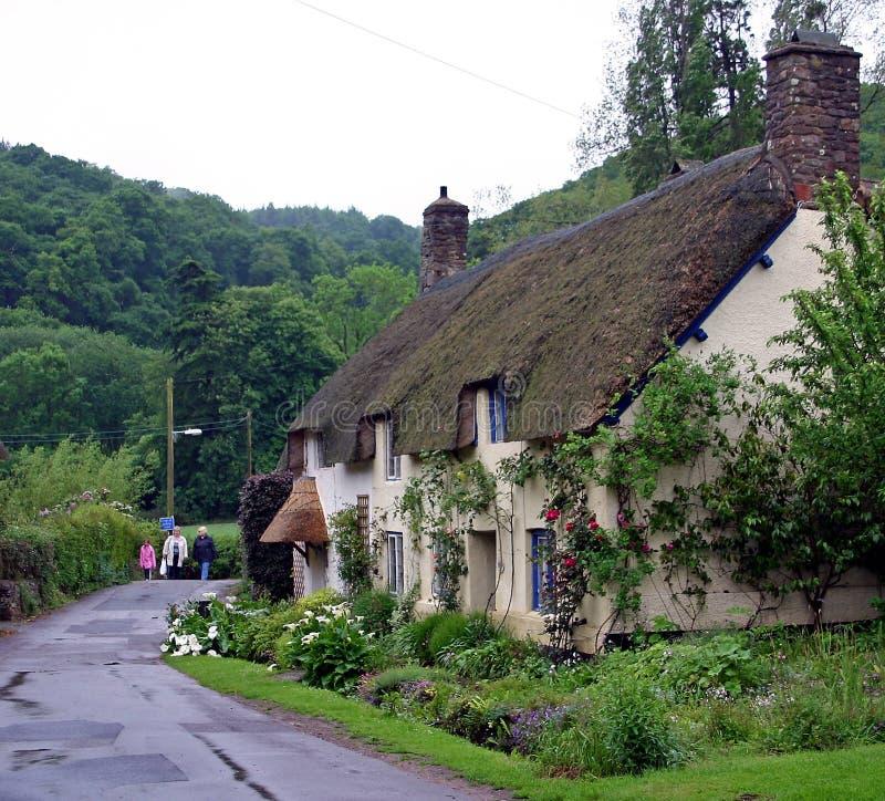 chałupa kraj Devon zdjęcie stock
