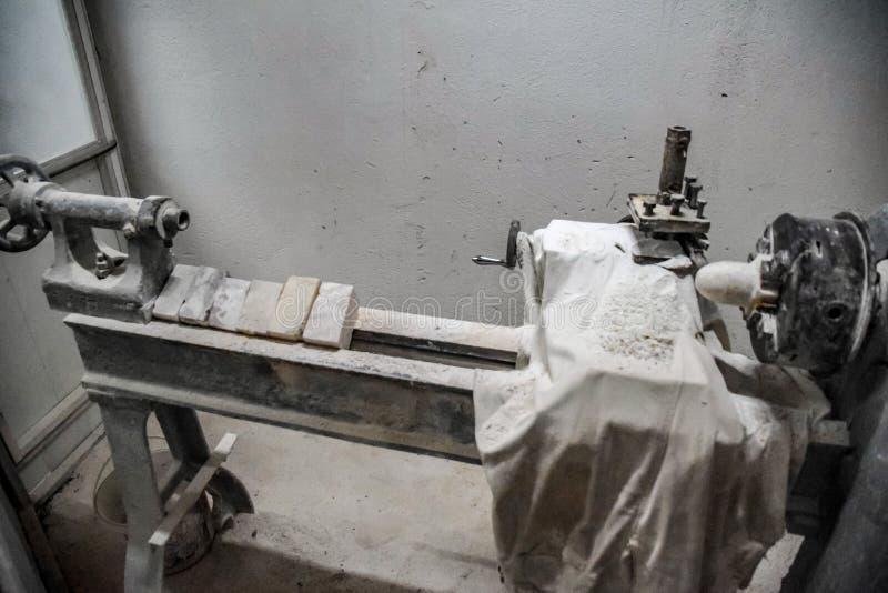 Chabet przerobowa maszyna Kamienny przerób na maszynie zdjęcie royalty free