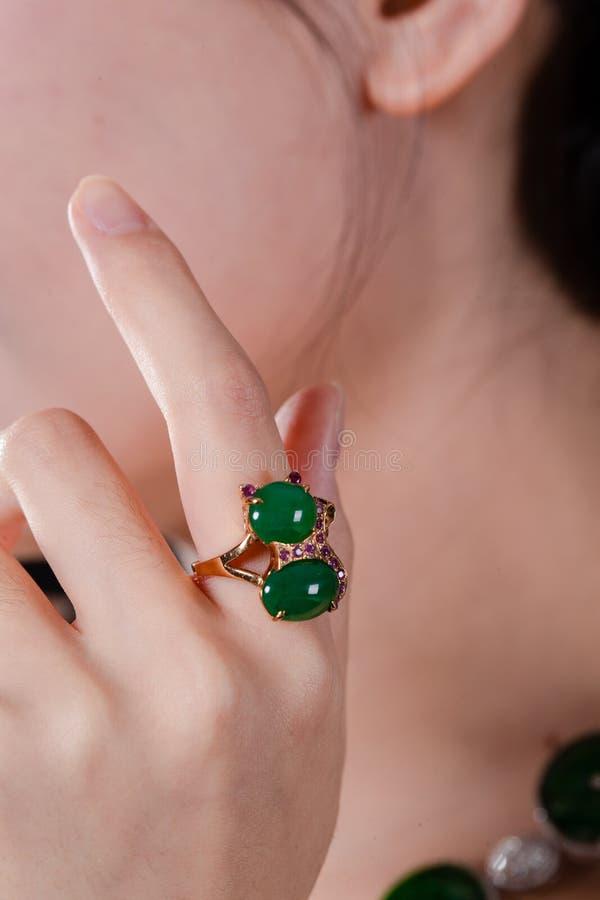 Chabeta pierścionek obraz stock