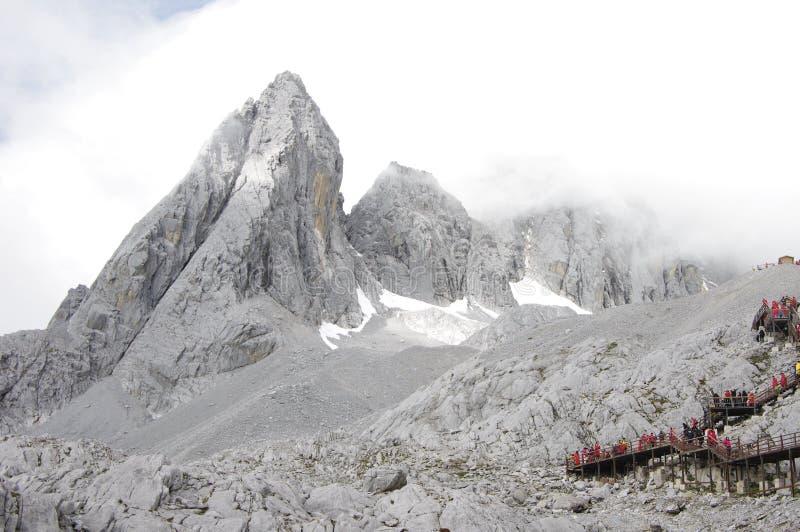 Chabeta smoka śniegu góra obraz royalty free