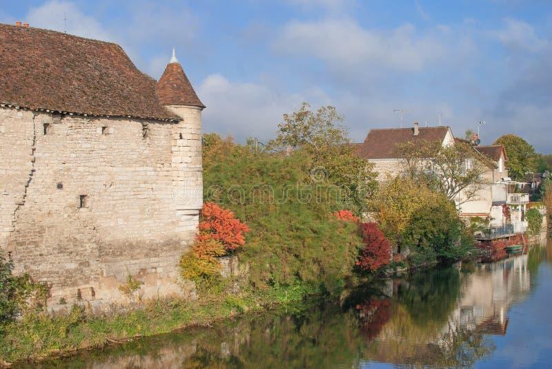 Chablis, Burgundy, Burgund стоковые изображения rf
