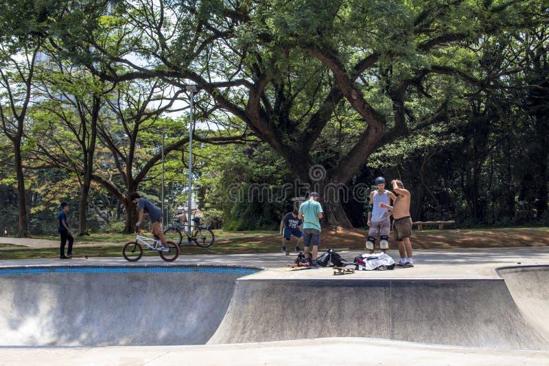 Chacara faz o jóquei Park imagens de stock