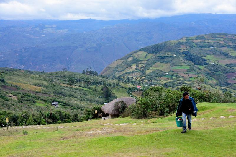 Chachapoyas - Περού στοκ εικόνα