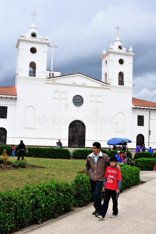 Chachapoyas - Περού στοκ φωτογραφίες