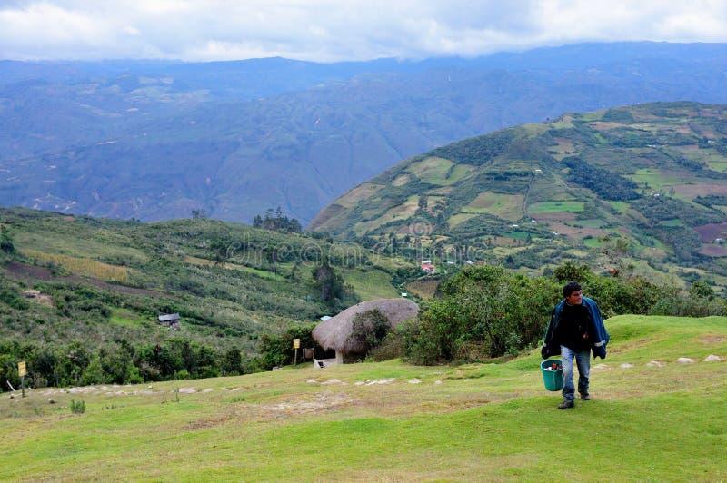 Chachapoyas -秘鲁 库存图片